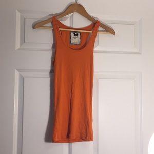 Gilly Hicks Medium Orange Tank Top Sleeveless